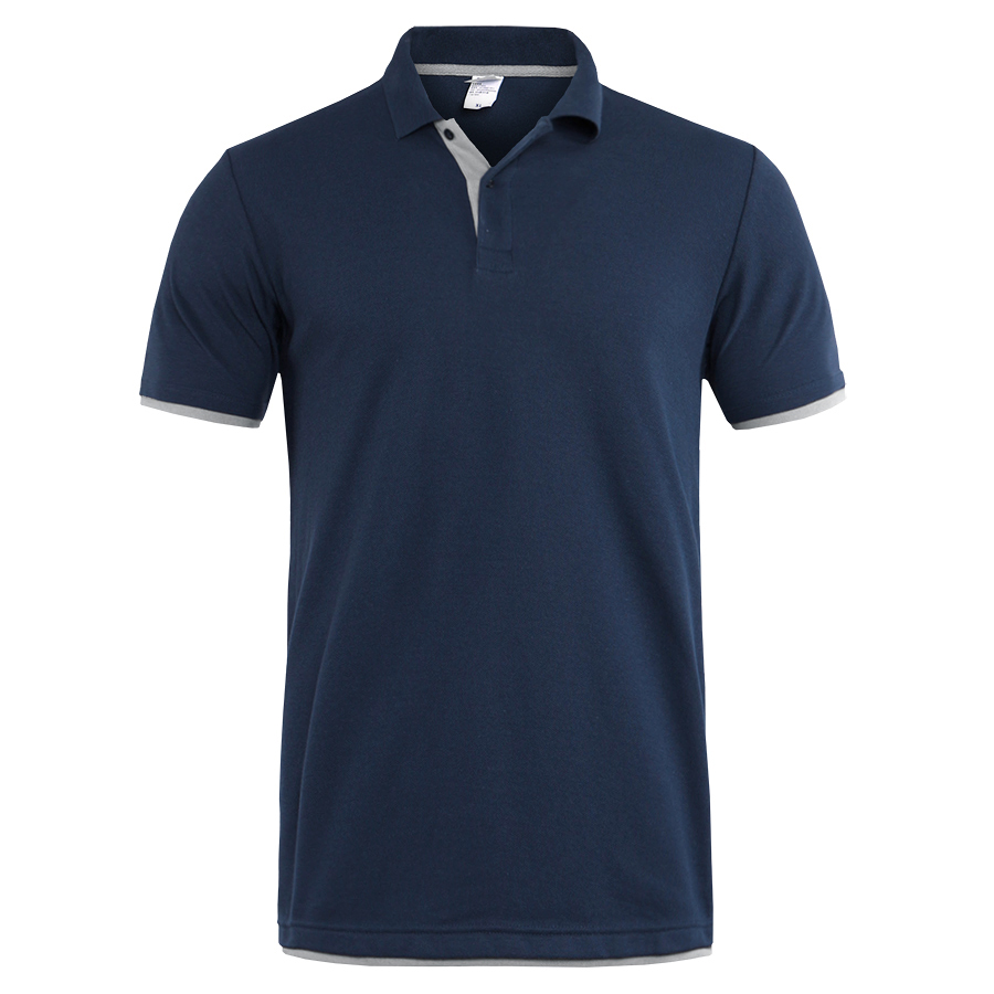 Summer polo shirt for men short sleeve classic polos shirts casual men cotton polo shirt men clothing fashion slim fit tops Men Men's Clothings Men's Polo Shirts Men's Tops