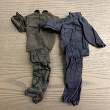 Lot 2pcs 1:6 Schaal WWII U. S. Militaire Pak Soldaat Kleding Voor 12 Inch Action Figures(China)
