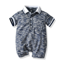 цены на Baby Boy Rompers Summer Newborn Girls Romper Infant Boys Jumpsuit Shorts Sleeve Casual Playsuit Clothing 40 в интернет-магазинах