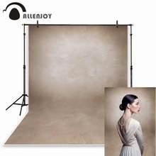 Allenjoy خلفية للتصوير الفوتوغرافي من قماش الفينيل ، لون بني فاتح ، الجرونج ، استوديو الصور ، كشك التصوير