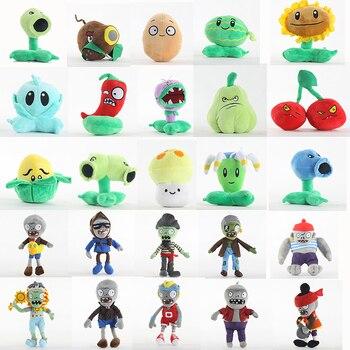 Plants vs Zombies Plush Toy Stuffed Doll Pea Shooter Sunflower Melon Plantas vs zombies PVZ Birthday Christmas Kids Gift 1