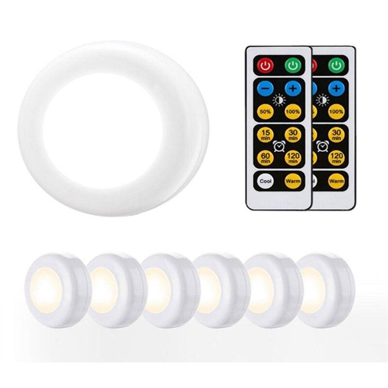 Светодиодный светильник с регулируемой яркостью и сенсорным датчиком, светодиодный светильник на батарейках, пульт дистанционного