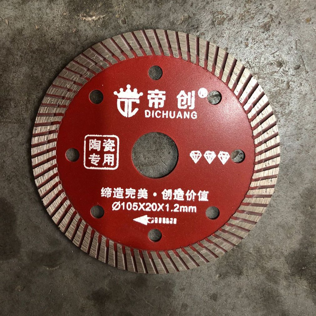 Brand New 1pcs Alloy Ceramics Disc Diamond Saw Blade Stone Cutting Disc Diamond Wheel Universal Power Tool Accessories