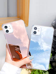 Luxury Clear Makeup Mirror Back Cover Soft Case For iPhone 11 Pro X XS Max XR 8 7 6S