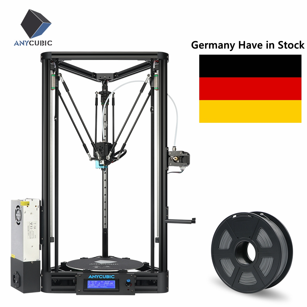 ANYCUBIC Kossel 3d Printer Kit with PLA Modular Assembly Easy to Set Auto Level FDM 3D Pinter Desktop DIY impresora 3d drucker