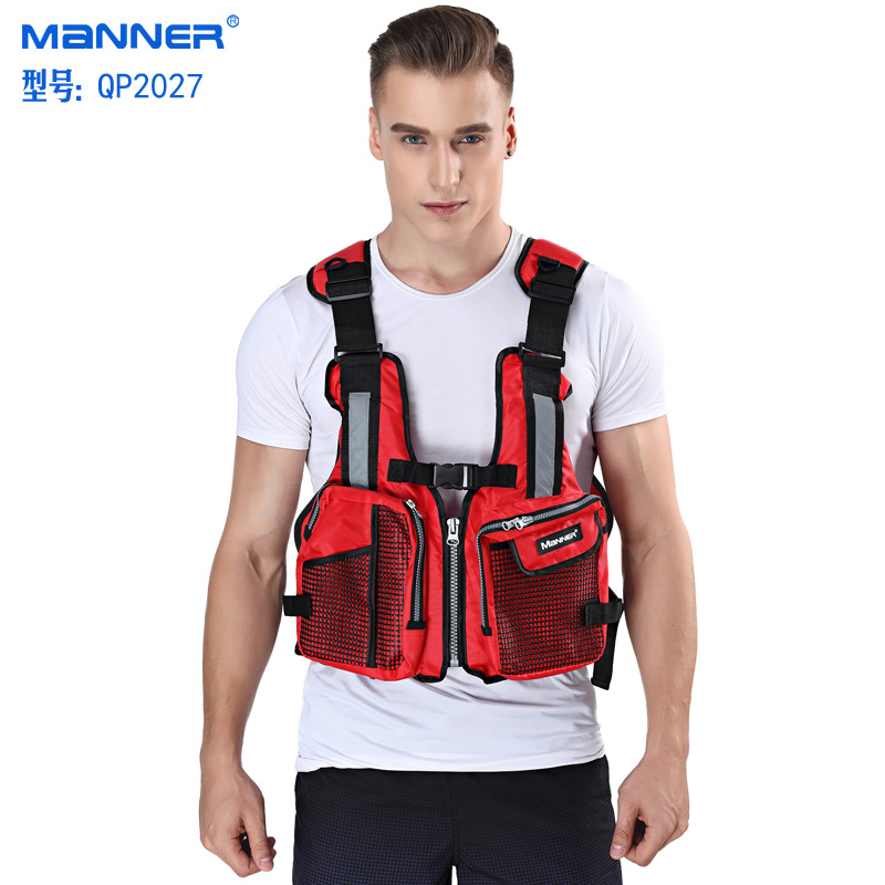 Manufacturers Direct Selling Adult Floating Vest Fishing Vest Clothing Bicolor Choice More Multi-pockets Non-Professional Life J