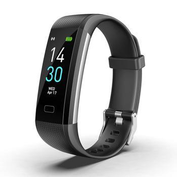 Smart Watch Global Version IP68 Waterproof Black Watch Heart Rate Fitness Activity Tracker Smart Bracelet Wristband Display makibes x5plus smart watch black