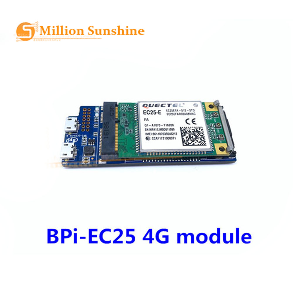 High Quality Banana Pi Bpi-EC25 4G Full-Netcom Wireless Communication Module For BPI R2 Free Shipping
