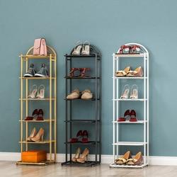 Armoire à chaussures en fer forgé à plusieurs couches, étagère de rangement de chaussures, minimaliste moderne marocain, porte d'entrée de maison