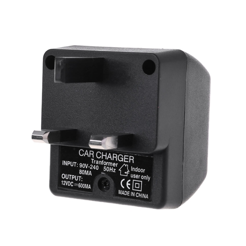 UK Plug <font><b>220V</b></font> <font><b>AC</b></font> <font><b>Power</b></font> <font><b>to</b></font> 12V <font><b>DC</b></font> Car Cigarette Lighter Converter Supply <font><b>Adapter</b></font> image