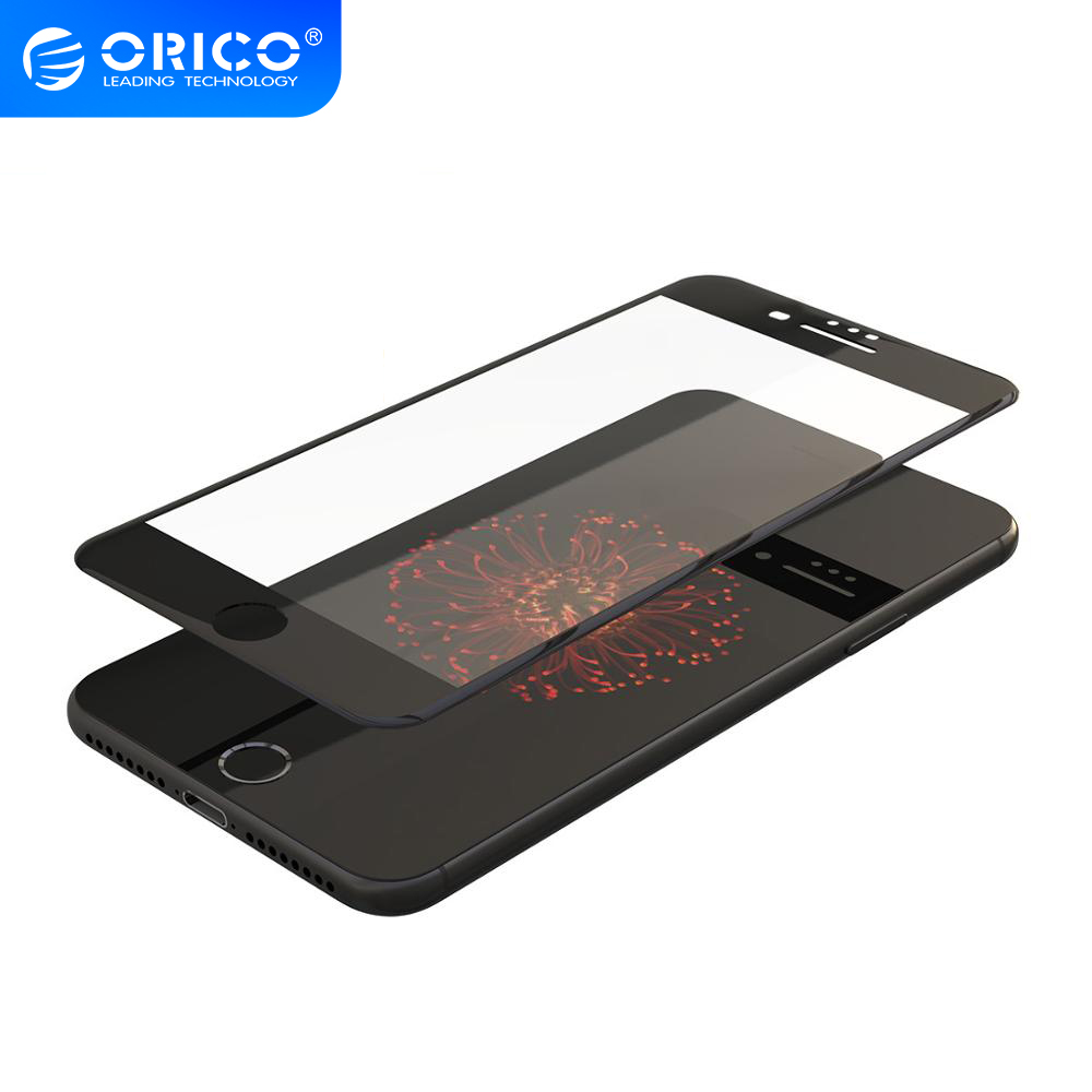 ORICO Full Cover Tempered Glass On iphone 6 6S 7 8 Screen Protector Toughened Protective Glass for iphone 7 Plus