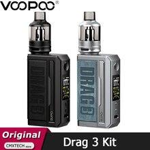 Voopoo – Cigarette électronique DRAG 3, Kit 177W, 5.5ml, dosette TPP, cartouche TPP, DM1, DM2, bobine, VS Drag 2
