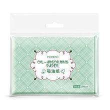 Масло для лица, Промокательная бумага, зеленые Матирующие салфетки для лица, очищающее средство для лица, контроль масла, Усадочные поры лица, средство для чистки 100 шт