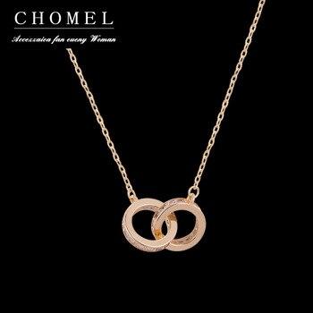 Singapur chomelan, Gargantilla de moda con doble collar de lazo de diamante completo, diseño femenino ins temperamento simple Plata de Ley 925