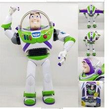 Em estoque 30cm nova edição figura brinquedo-história buzz lightyears falando buzz figura de ação pvc melhor presente de brinquedo para crianças