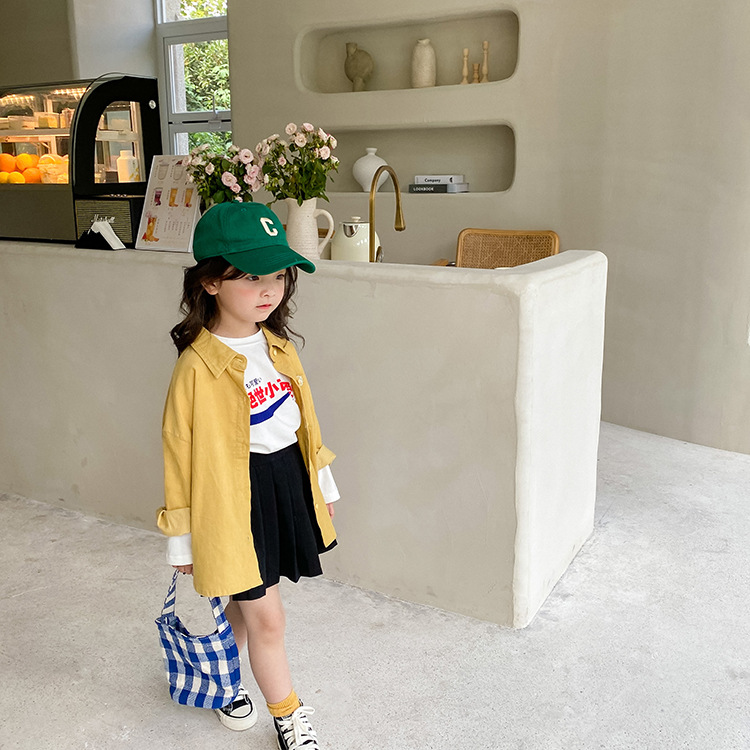 casaco de lapela 2021 outono coreano menino