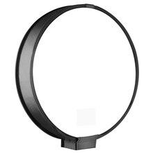 40Cm Round Universal Portable Speedlight Softbox Flash Diffuser On Top Soft Box For Camera