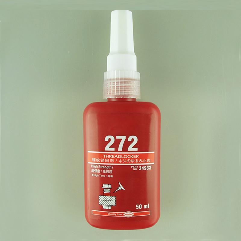 272 50ML Metal Screw Glue Cylindrical Retainer Locking Adhesive Anaerobic Adhesive Thermal Strength Environment Resin Glue