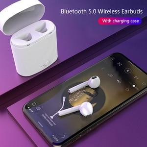 Image 5 - Headphone Wireless Bluetooth 5.0 Earphone Mini Earbuds With Mic Charging Box Sport Headset For iphone xiaomi Smart Phone