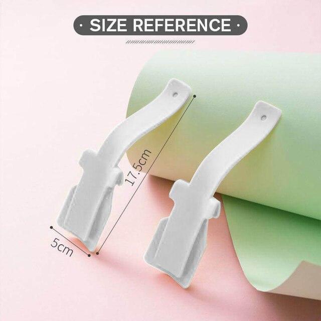 Junejour 1/2PCS Lazy Unisex Wear Shoe Horn Helper Shoehorn Shoe Easy on and off Shoe Sturdy Slip Aid New