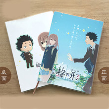 1 Pcs Anime De Vorm Van Voice Nishimiya Shouko Notepad Journal Dagboek Briefpapier Cosplay Prop Voor Jongen Meisje(China)