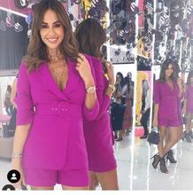 Индивидуальные Фиолетовые женские костюмы sumer деловой женский