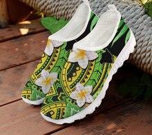 Forudesigns женская обувь с традиционным племенем Плюмерия полинезийский