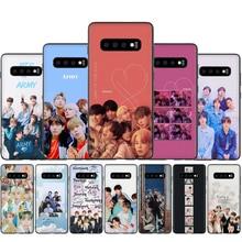 Korea Bangtan Boys kpop Silicone Case For Samsung S7 Edge S8 S9 S10 S20 Note 8 9 10 Plus