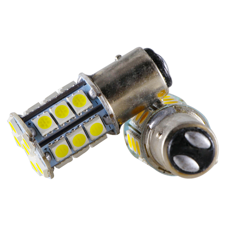 Купить с кэшбэком S25 1156 BA15S 1157 BAY15D canbus 12V 24v 3W led Headlight light Auto Front bulb Brake Lights Turn single Parking Lamp smd 5050
