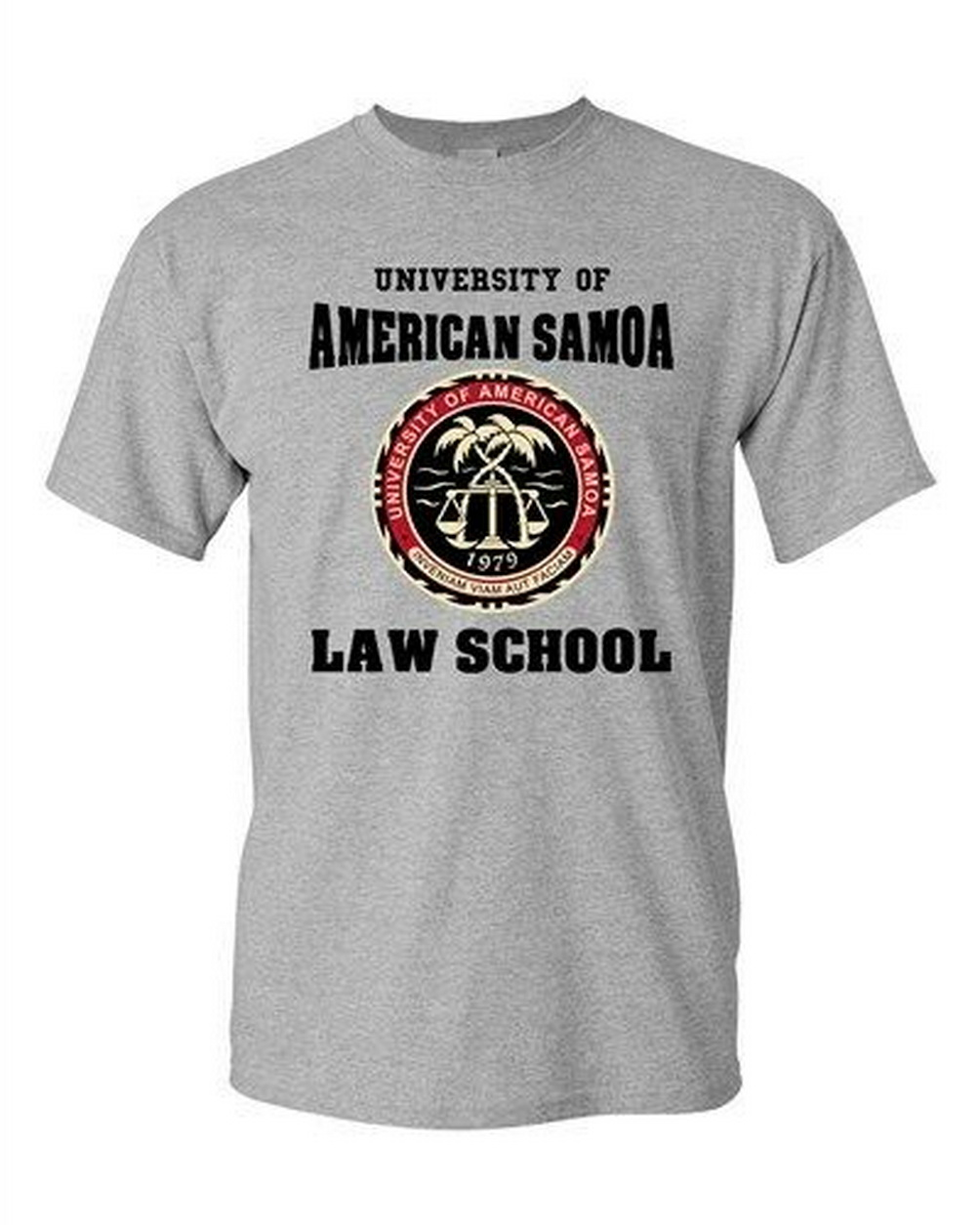University Of American Samoa Law School Samoan Students Dt Adult T-Shirt Tee Free Shipping Funny Tops Tee Shirt image