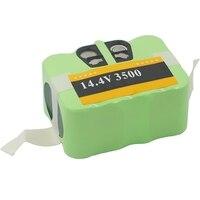 14.4V 3500Mah Sc Ni Mh Bateria Para Aspirador de pó Robô Varredor Kv8/Xr210 Series/Fmart R 770 Fm 018 fm 058/Media/Zebot|Peças p/ aspirador de pó| |  -