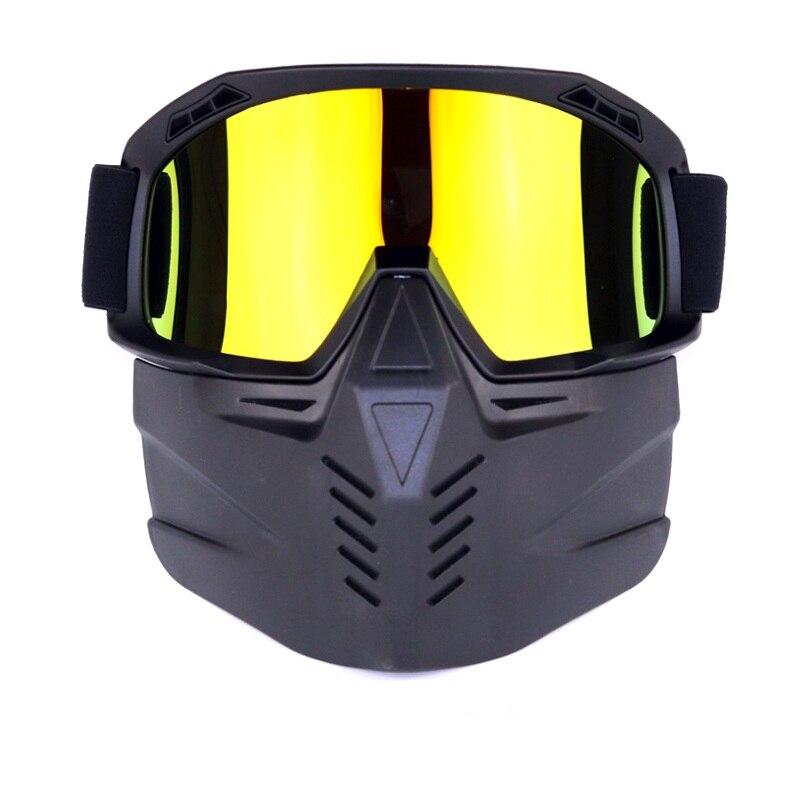 Мотоциклетная маска для велоспорта, съемные очки, водонепроницаемые HD антиуф очки для бездорожья, мотоциклетная маска для мотокросса|Мотоциклетные очки|   | АлиЭкспресс