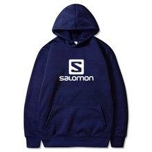 Mens Hoodies Sweatshirt Solomon Print Patchwork Long Sleeve Hooded Pullover Jumper Sweatshirts Men Coat 24 Color