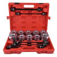 Car Universal Bush Bearing Removal Insertion Tools Set Press Pull Sleeve Kit Bearing Removal Insertion Tools