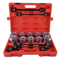 Car Universal Bush Bearing Removal Insertion Tools Set Press Pull Sleeve Kit Bearing Removal Insertion Tools