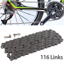 9/27 Speed Bike Chain Mountain Velcro Bicycle Bike Chain Double Speed Road MTB Bicycle Chains Bike Accessories 116 Links