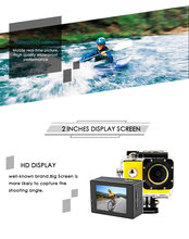 Style Ultra-HD 4K Action Camera 170D Wifi Sport Camera 30M Underwater Cam Go Waterproof Pro Bike Helmet Car Cam DVR(China)