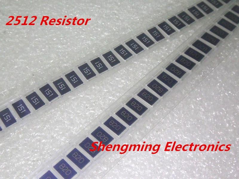 2512 SMD Chip Resistor+//-5/% 1W 1 Ohm 10M Ohm choices 50pcs