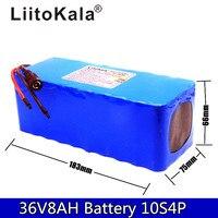 Liitokala 36 V 8ah bateria com alta capacidade De Lítio batter pacote não inclui 42 V 2A chager