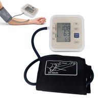 Digital display lcd sphygmomanômetro automático monitor de pressão arterial freqüência cardíaca pulsometer pulsometer alta precisão