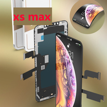 GX LCD Display For Apple iPhone 11 pro max X XS MAX XS XR Super AMOLED 3D Touch Screen With Digitizer Assembly Parts black