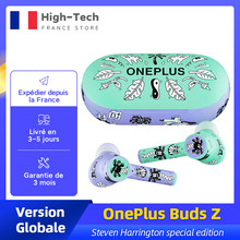 OnePlus Buds Z Version mondiale écouteur sans fil TWS Bluetooth 5.0 IP55 20 heures d'autonomie pour OnePlus 8T Nord 8 Pro N10
