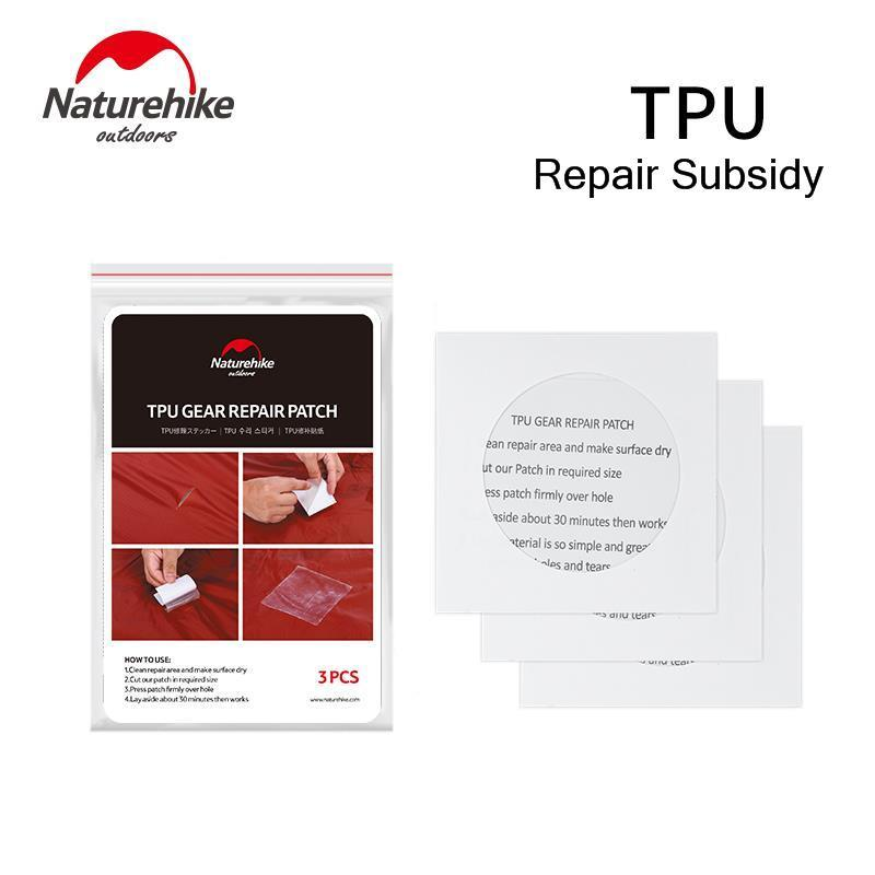 Naturehike 2019 New TPU Patching Repair For Sleeping Bag Tent Inflatable Cushion Inflatable Pillow Waterproof Bag Repair Subsidy