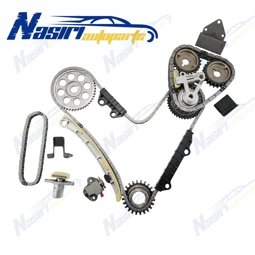 Distributieketting Kit Voor 99-07 Suzuki Grand Vitara XL7 Chevrolet Tracker V6 2.5 2.7 H25A H27A