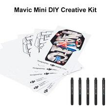 Mavic Mini DIY Набор для творчества для DJI Mavic мини-Наклейка Набор ручная нарисованная кожа для Mavic Mini Drone аксессуары
