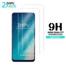 Vivo S1 2Pcs Tempered Glass For Vivo S1 Glass Screen Protector 2.5D 9H Premium Tempered Glass Vivo S1 Protective Film