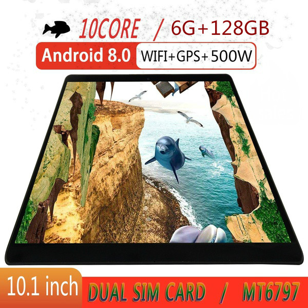 2020 New Tablet PC 4G Octa Core Google Play The Kids Tablette Enfant 6GB RAM 128GB ROM WiFi GPS Tablet 10.1 Android 8.0