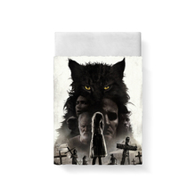 Pet Sematary Bed Sheet Bed Linen Poplin Cotton Posciel Twin Size Bedding Couple Single Euro Kids Twin Bedding Child Queen king king s pet sematary
