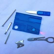 12 в 1 инструмент для кредитных карт нож для визиток Бесплатная доставка Оптовая продажа, Прямая поставка