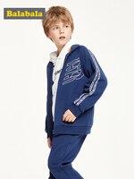 Children clothing boy's suit two piece autumn 2019 new children's clothes sports simple clothes set tide